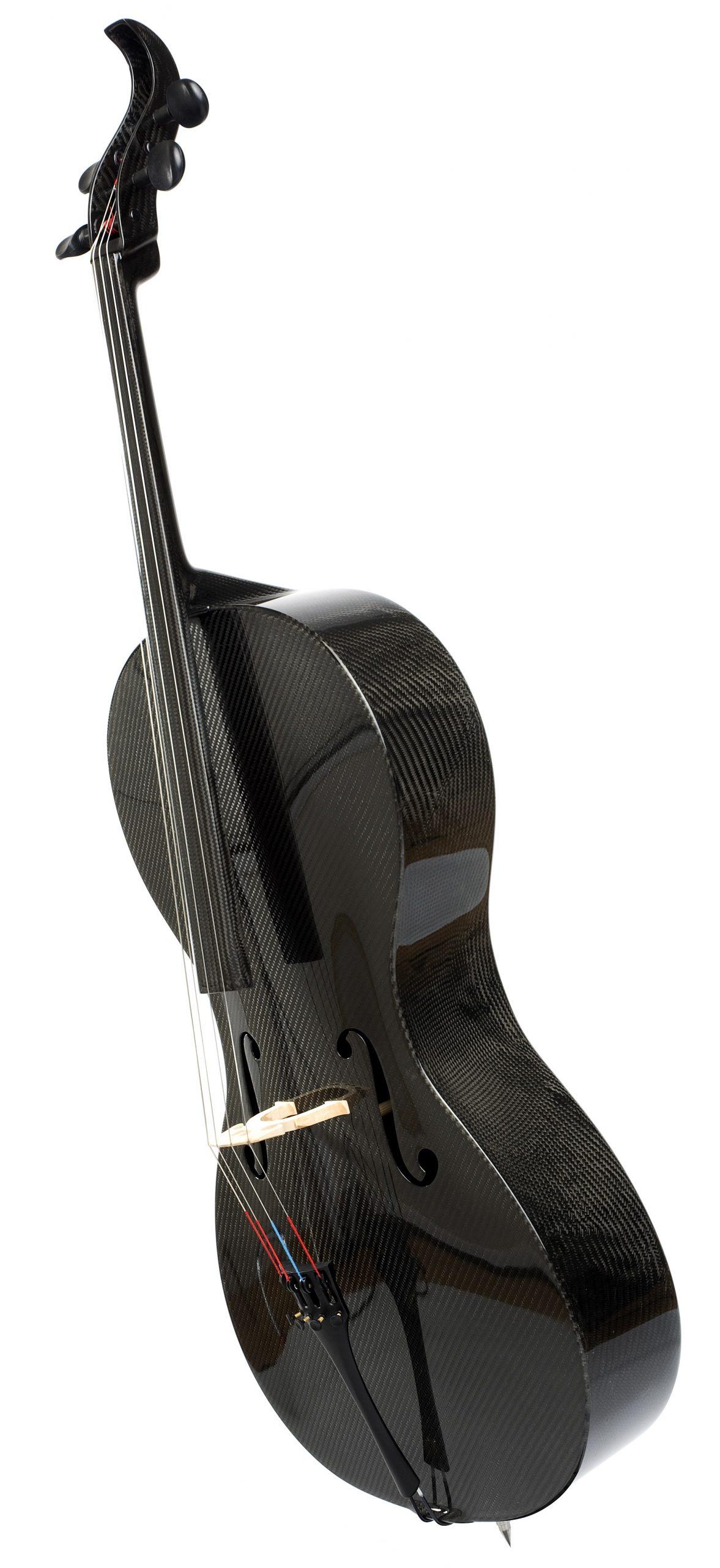 Luis and Clark Carbon Fiber Cello – Photo by Kevin Sprague