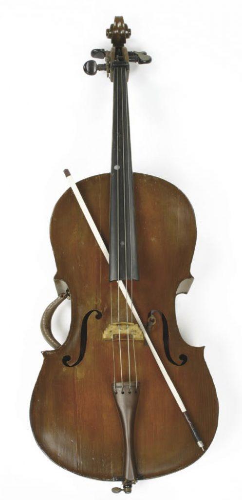 Cello from Pepito memorabilia in Profiles in History Auction page 136