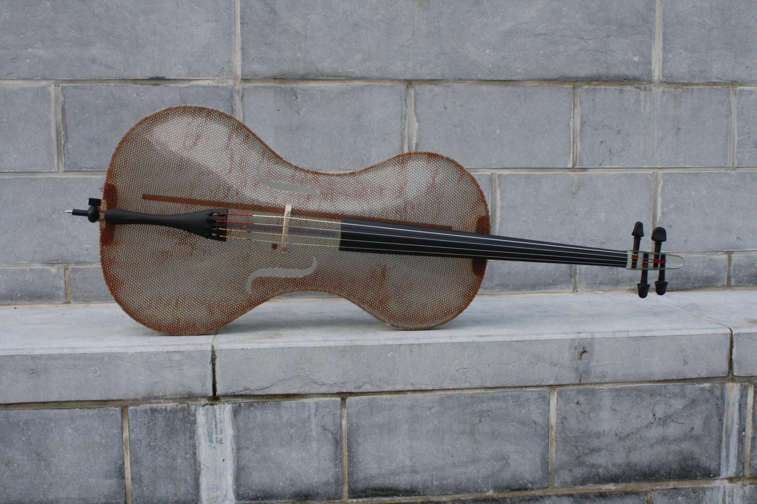Glass Fiber Cello by Tim Duerinck