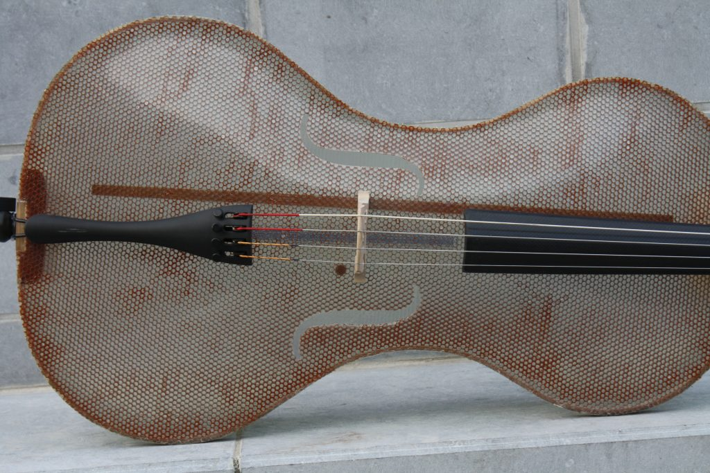 Glass Fiber Cello by Tim Duerinck