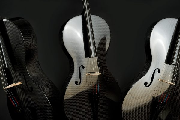 Luis and Clark Carbon Fiber Cellos. Photo: Kevin Sprague