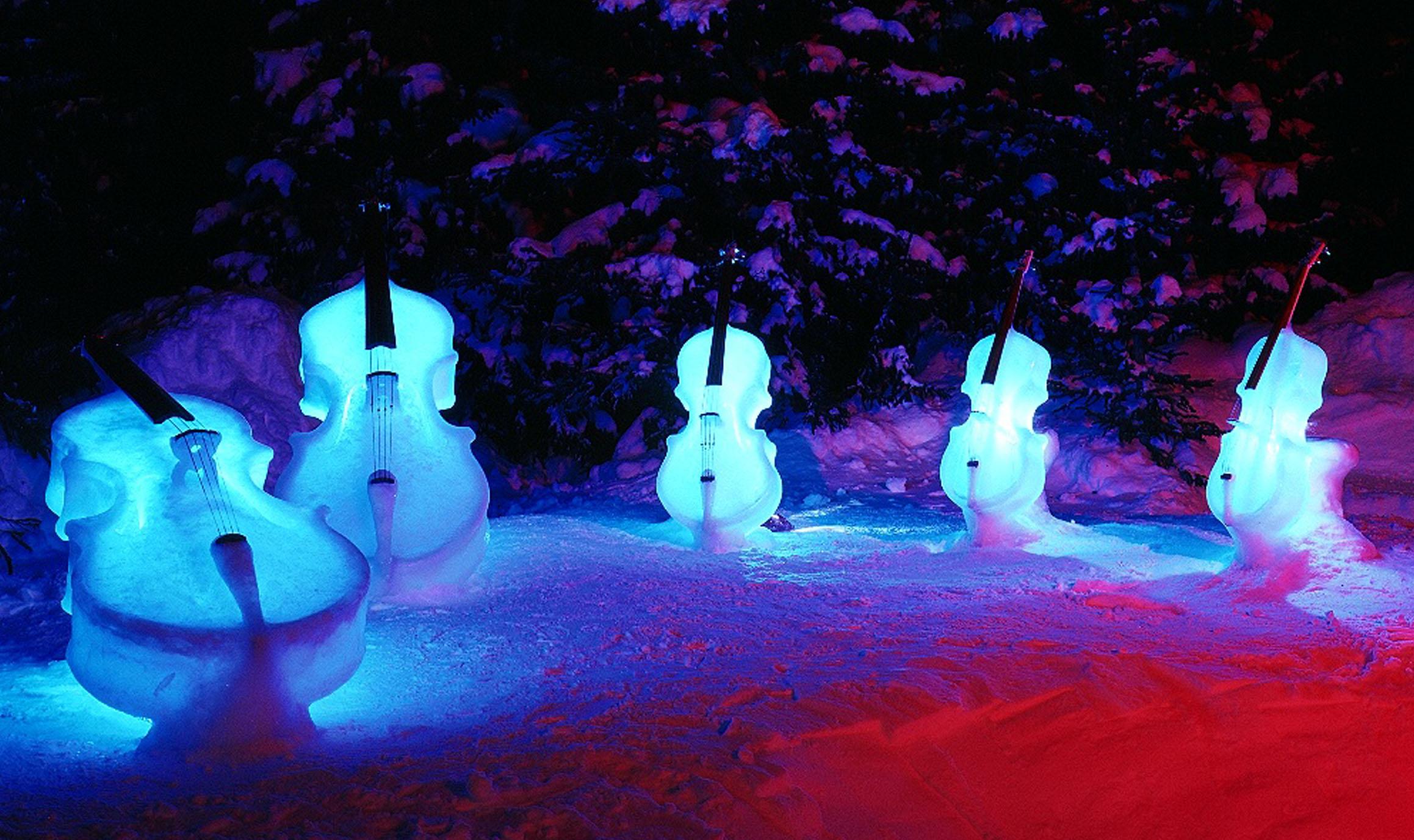 First Ice Music Concert – Tim Linhart. Photo courtesy Tim Linhart