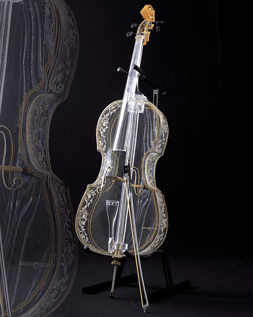 Glass Cello by Hario Glass in Japan (2004)