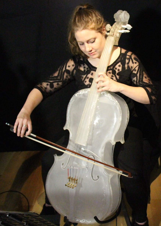 Glass Cello. Prototype #3
