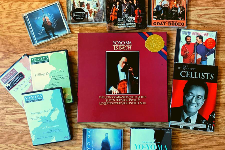 Yo-Yo Ma CDs, Book, LPs, DVDs