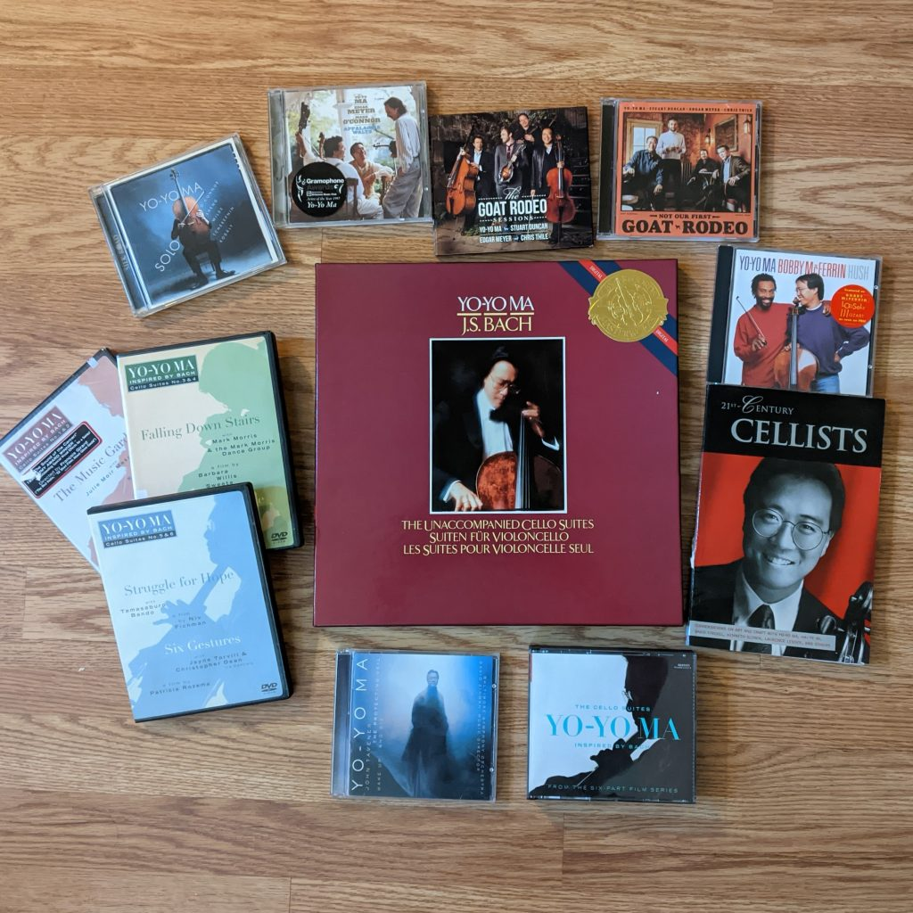 Yo-Yo Ma CDs, LPs, DVDs, etc.