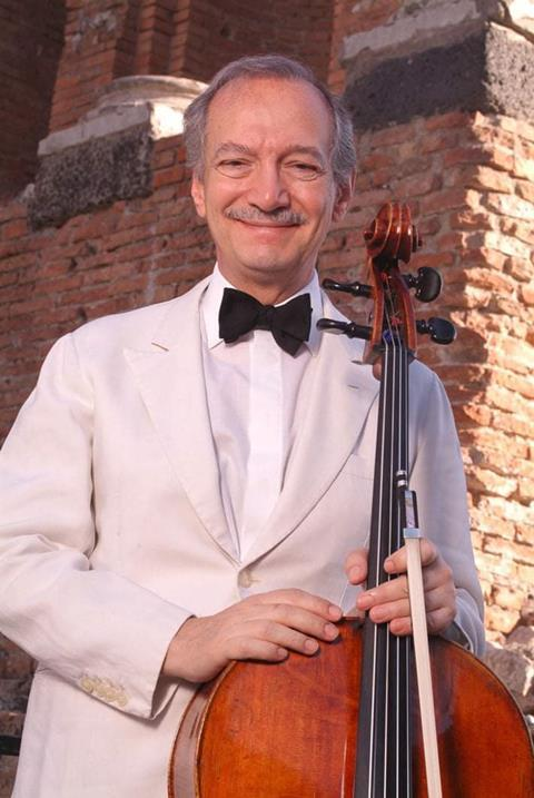 Cellist Francesco Strano