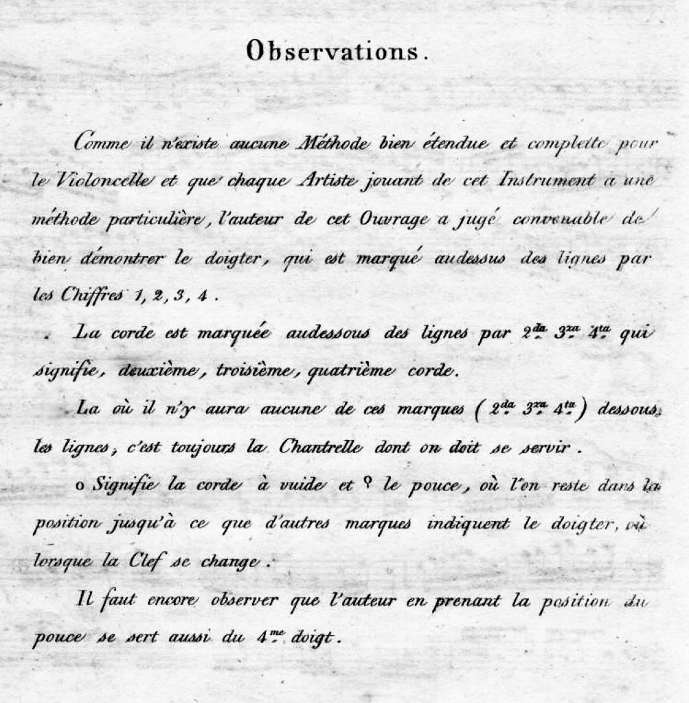 Romberg's Notation System